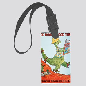 1985 Childrens Book Week Large Luggage Tag