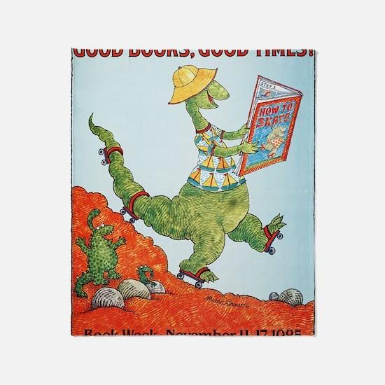 1985 Childrens Book Week Throw Blanket