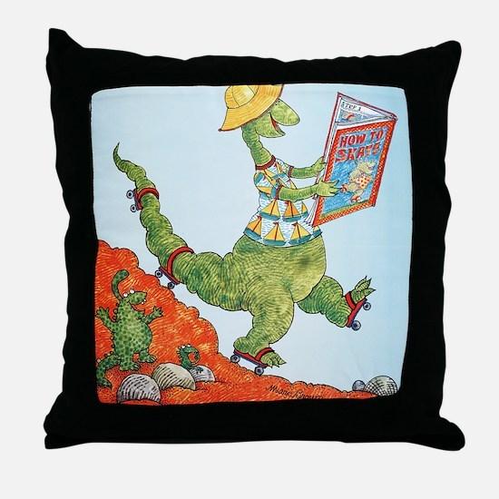 1985 Childrens Book Week Throw Pillow