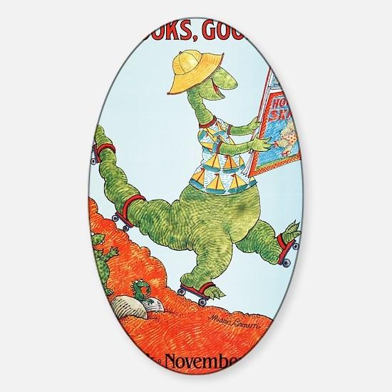 1985 Childrens Book Week Sticker (Oval)
