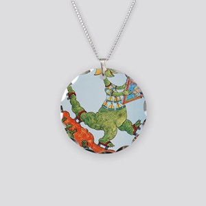 1985 Childrens Book Week Necklace Circle Charm