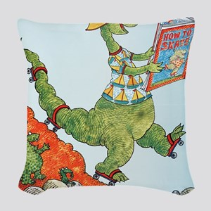 1985 Childrens Book Week Woven Throw Pillow