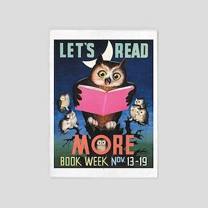 1955 Childrens Book Week 5'x7'Area Rug