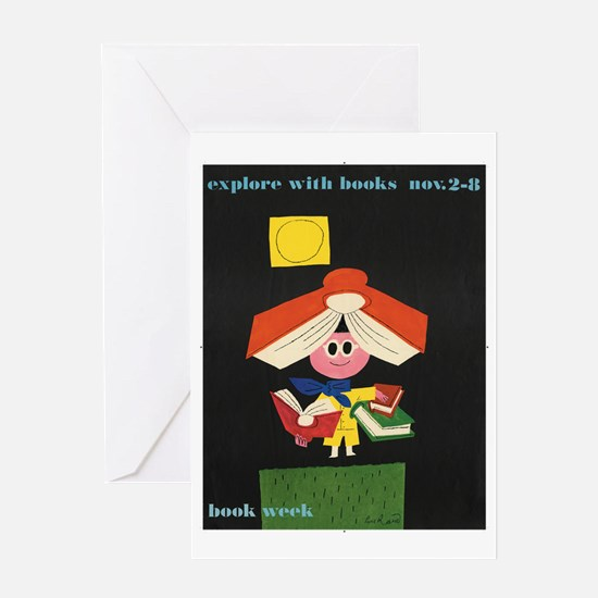 1958 Childrens Book Week Greeting Card