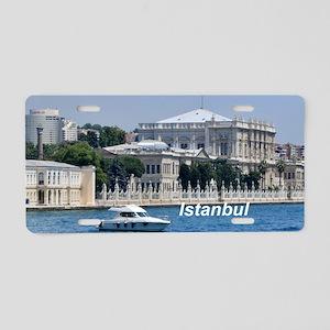 Istanbul_4x9.25_FlatCard_Do Aluminum License Plate