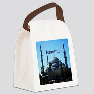 Istanbul_6x6_BlueMosque Canvas Lunch Bag