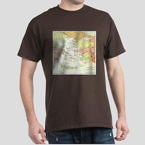 Map Isles Of Greece T-Shirt