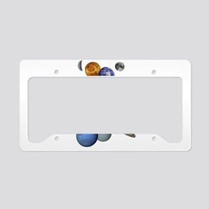 The Planets License Plate Holder