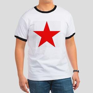 Megans Sharon Tate Red Star Ringer T