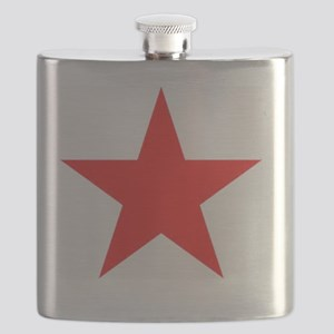 Megans Sharon Tate Red Star Flask