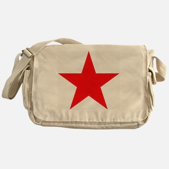 Megans Sharon Tate Red Star Messenger Bag