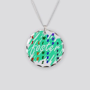 foster... Necklace Circle Charm