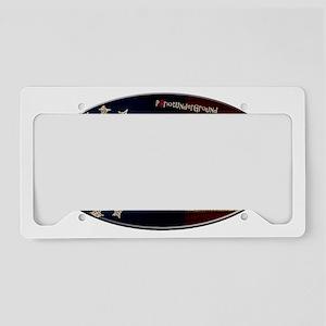 A Republic License Plate Holder