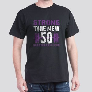 STRONG THE NEW 50 - PURPLE Dark T-Shirt