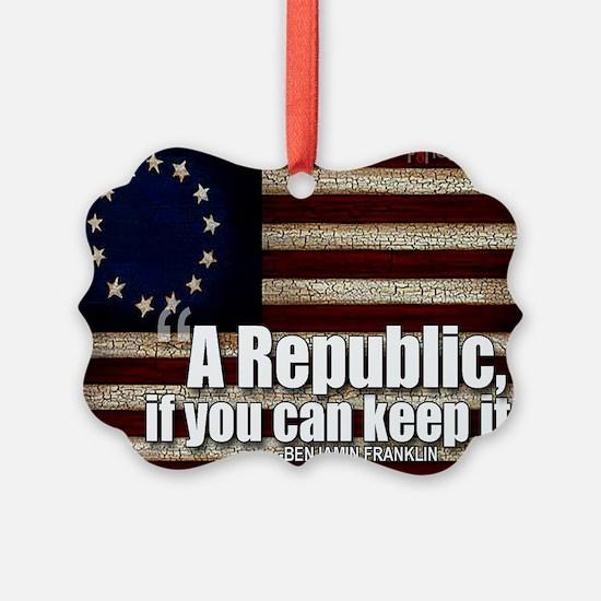 A Republic Ornament