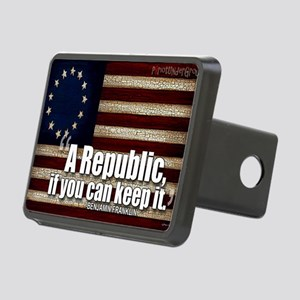 A Republic Rectangular Hitch Cover