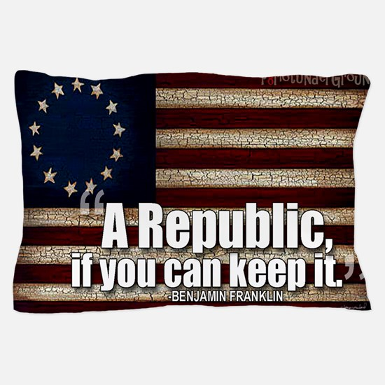 A Republic Pillow Case