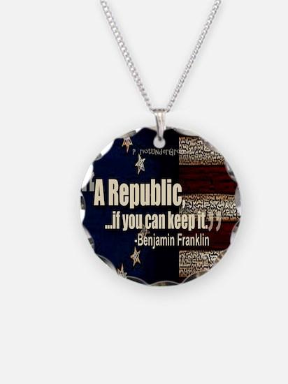 A Republic Necklace