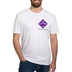 Hazardous Gluttony Fitted T-Shirt