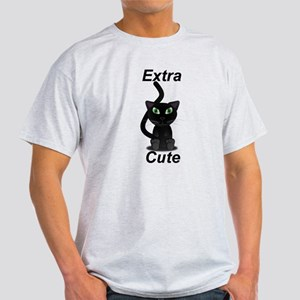 Extra Cute Black Cat T-Shirt