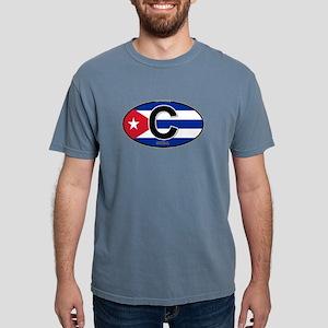 Cuba Intl Oval (colors) T-Shirt