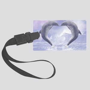 dk_pillow_case Large Luggage Tag