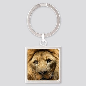 Chicks Dig Scars Square Keychain