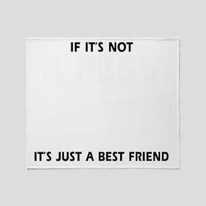 If its not a PBGV Throw Blanket