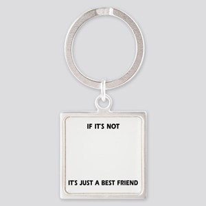 If its not a Portuguese Waterdog Square Keychain