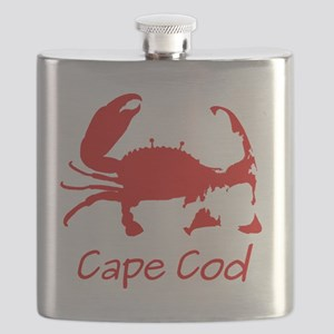 Red Crab, Casual Solid Flask