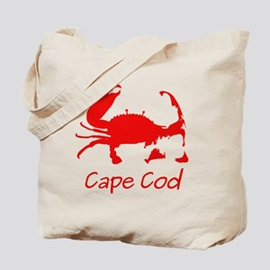 Red Crab, Casual Solid Tote Bag
