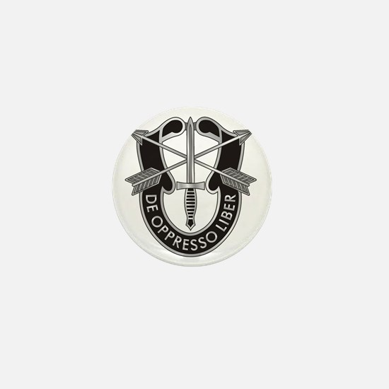 Special Forces Crest Mini Button