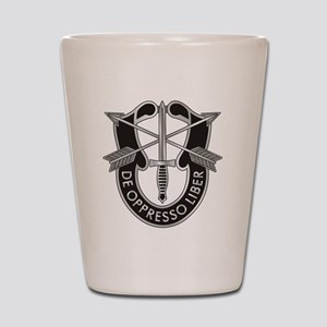 Special Forces Crest Shot Glass