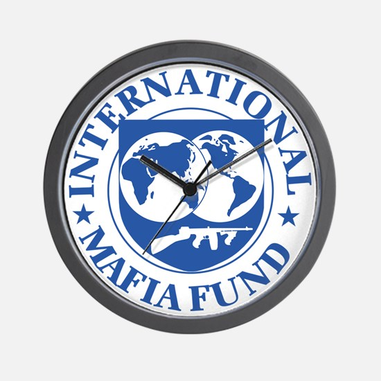 International Mafia Fund Wall Clock