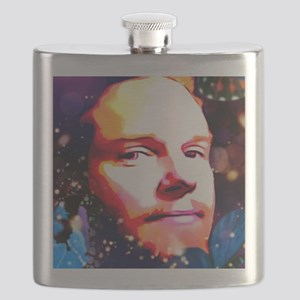 Psychedelic T face1 Flask