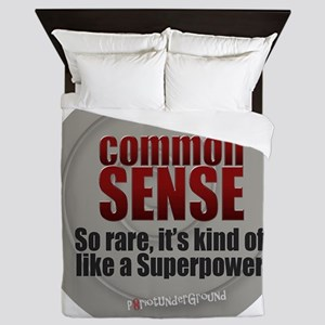 Common Sense Queen Duvet
