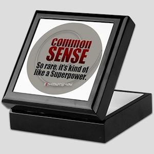 Common Sense Keepsake Box
