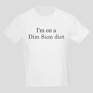 Dim Sum diet Kids Light T-Shirt