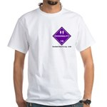 Hazardous Personality White T-Shirt