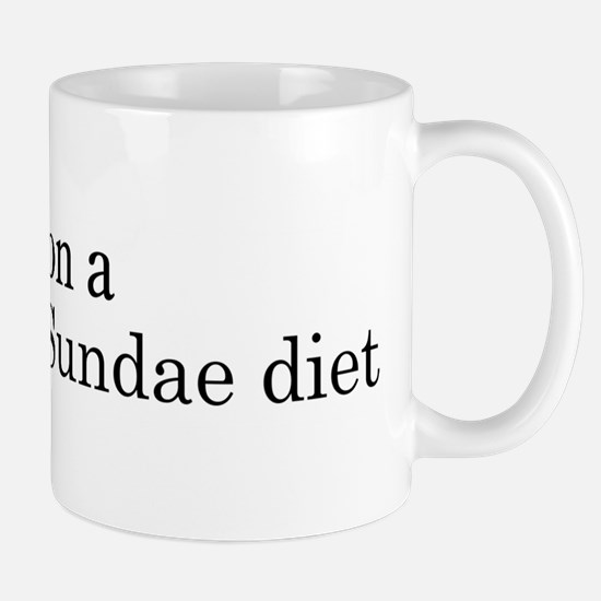 Hot Fudge Sundae diet Mug