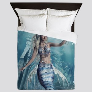 Fantasy Mermaid Queen Duvet