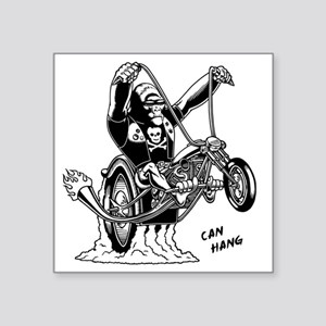 "ape-hangin2-LTT Square Sticker 3"" x 3"""