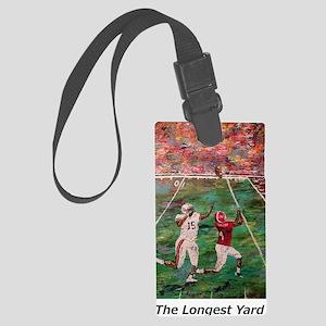 Longest Yard Football Poster Pri Large Luggage Tag