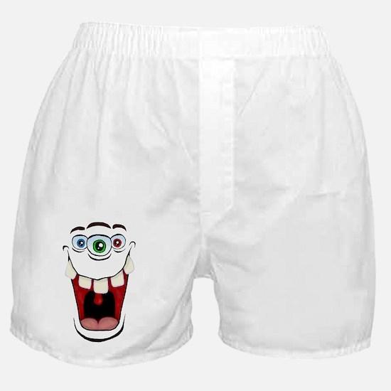 3 Eyed Monster Boxer Shorts