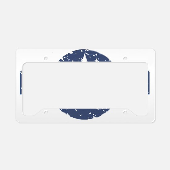 Faded Air Force Logo License Plate Holder
