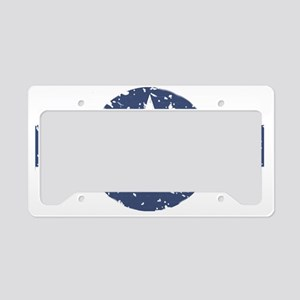 Air force roundel blue License Plate Holder