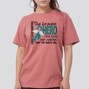 Bravest Hero I Knew Ovarian Cancer T-Shirt