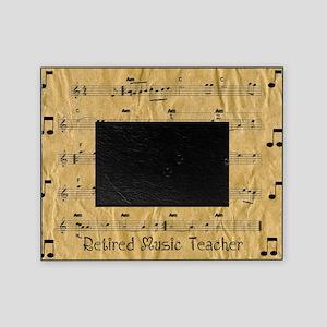 retired music teacher throw Picture Frame