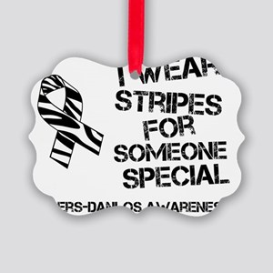 EDS Awareness I Wear Stripes For  Picture Ornament