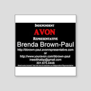 Advertisement Sticker